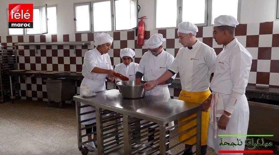 مدرسة شمسي لفنون الطبخ تفتح باب الإدماج للأطفال غير المتمدرسين
