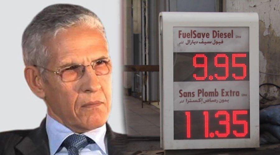 الداودي يستغل تراجع أسعار النفط على المستوى العالمي لإشهار ورقة التسقيف