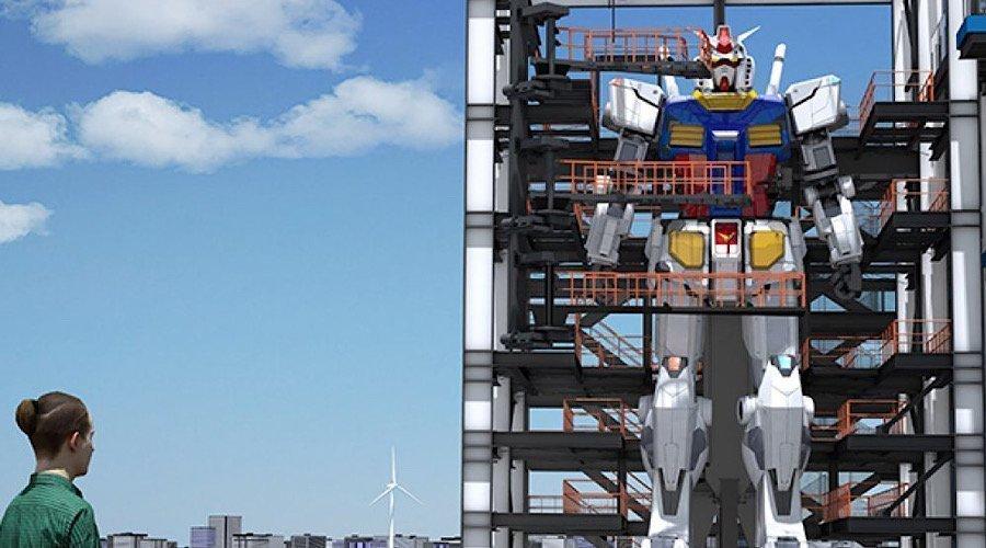 شركة يابانية تصنع مجسما لغراندايزر طوله 18 مترًا