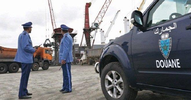 حجز أزيد من 45 طنا من المواد المهربة بقيمة 2,9 مليون درهم