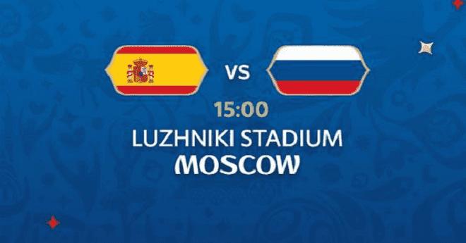 التشكيلة الرسمية: مفاجآت بتشكيلتي إسبانيا وروسيا