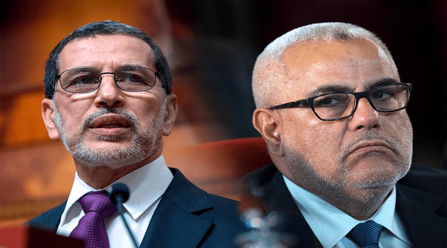 """بنكيران يدعو العثماني إلى تقديم استقالته من رئاسة حزب """"البيجيدي"""""""