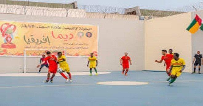 """المنتخب الوطني ينتصر في المباراة النهائية ويتوج بـ""""شان السجون"""""""