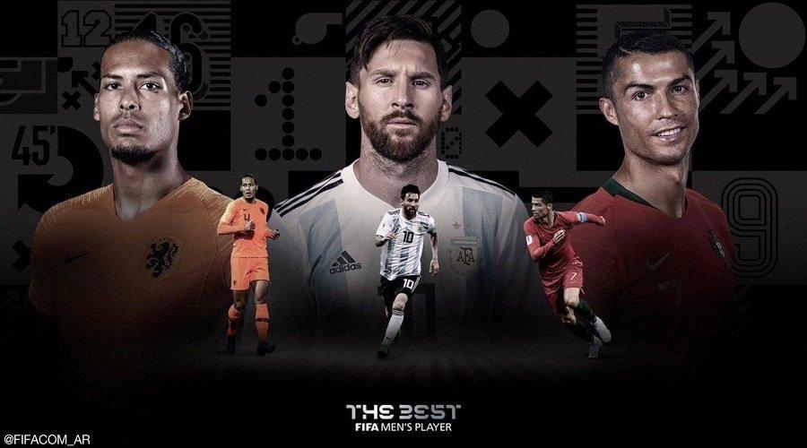 """الفيفا يكشف أسماء المتنافسين على جائزة """"أفضل لاعب في العالم"""""""