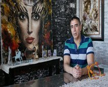 الفنان التشكيلي عبد الإله الشهيدي يحكي لنا عن بداياته