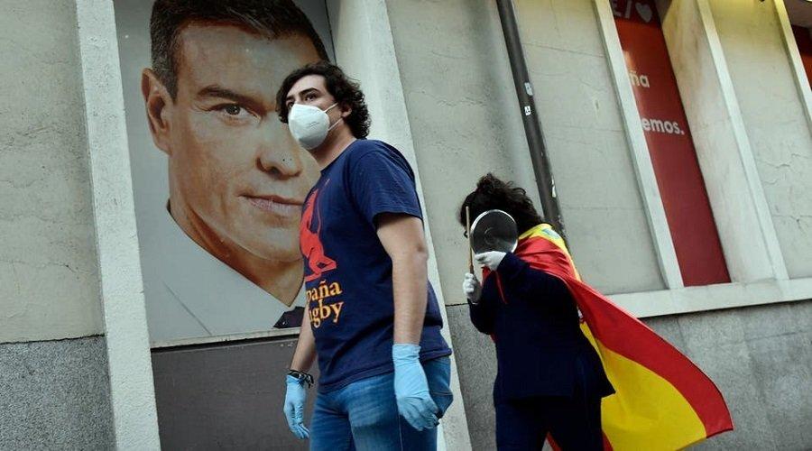 الحكومة الإسبانية تعتزم تمديد حالة الطوارئ حتى 21 يونيو