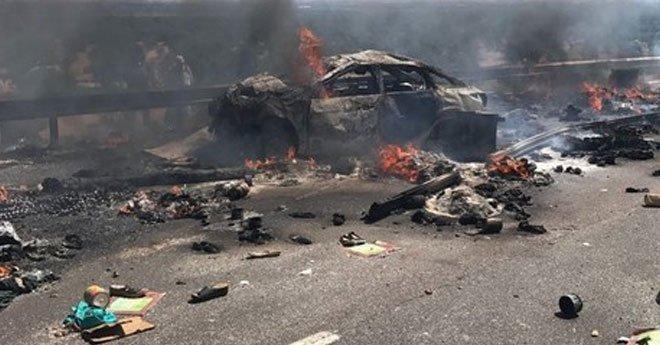 صادم ..مقتل ستة أشخاص حرقا في حادثة سير بالطريق السيار أكادير-مراكش