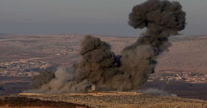 غارات جوية مكثفة لتركيا على منطقة عفرين السورية وقواتها البرية تلاحق المليشيات الكردية