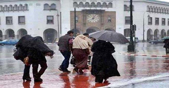 نشرة خاصة.. أمطار قوية بهذه المناطق من المملكة