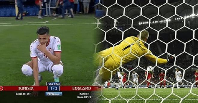 تونس تسقط أمام إنجلترا وتكرّس سقوط العرب في المونديال