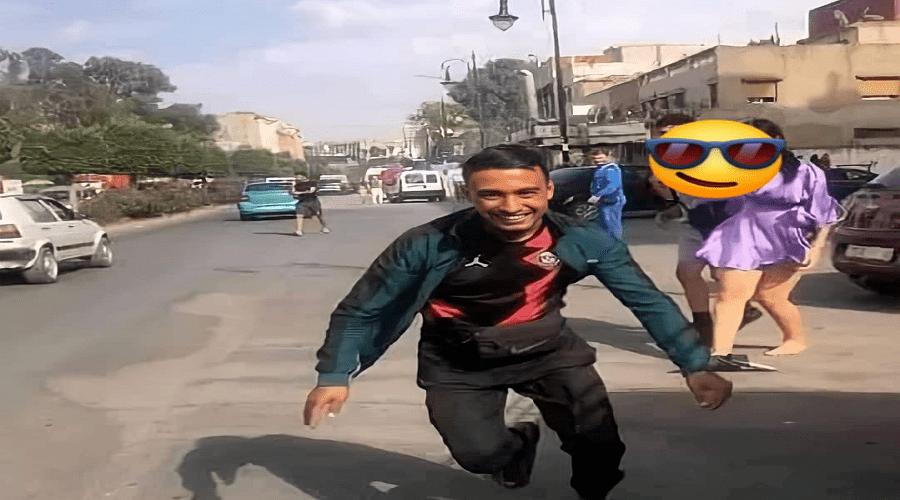 """فيديو لتحرش بفتاة في الشارع العام بغرض """"البوز"""" يهز طنجة"""