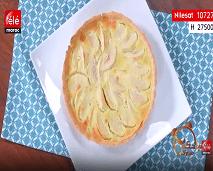 شهيوة: تارت بالتفاح و بودرة اللوز