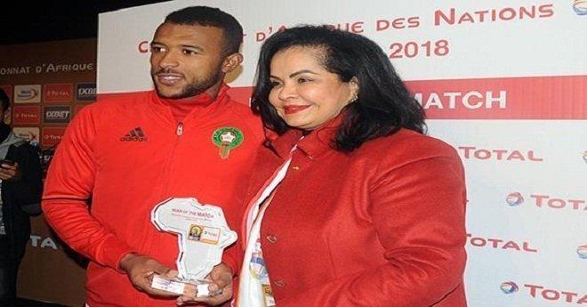 """""""الكاف"""" يختار المغربي أيوب الكعبي أحسن لاعب في لقاء الأسود وليبيا"""