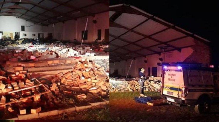 مصرع 13 شخصا في حادث انهيار كنيسة بجنوب إفريقيا