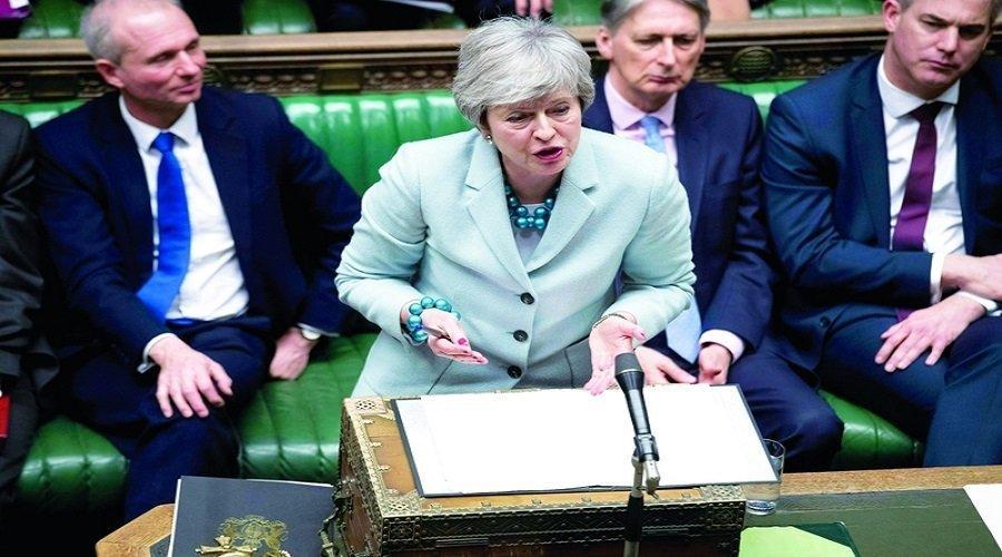 """تيريزا ماي تعرض على البرلمان تصويتا لاستفتاء جديد بشأن """"بريكست"""""""