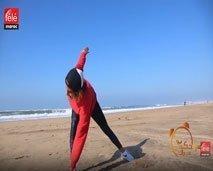صباحكم مبروك: الكوتش كلثوم أضمير تقترح كليكم تمارين جديدة وفعالة للحصول على جسم رشيق ومشدود