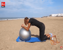 حركات رياضية جديدة باستعمال الكرة