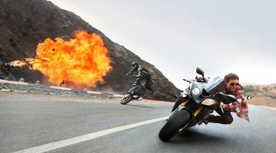 """تعرض موقع تصوير فيلم """"مهمة مستحيلة 07"""" لحريق ضخم"""