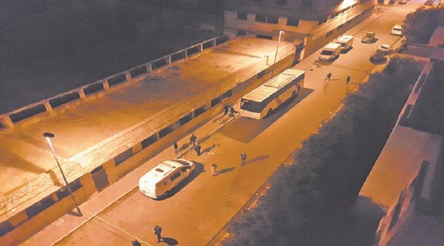 ad6e1d2a0 هكذا استنفرت حافلة مشبوهة أمن البيضاء ليلة رأس السنة - تيلي ماروك