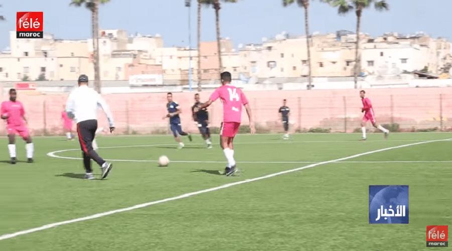 شباب الحي الحسني نمودج لأندية الهواة التي تكون وتؤطر اللاعبين الشباب في كرة القدم