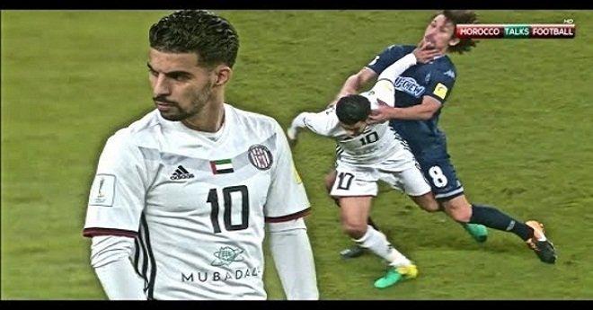 المغربي بوصوفة يقود الجزيرة الإماراتي للدور الثاني من مونديال الأندية