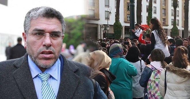 الرميد يؤكد دخول أطراف أخرى على خط الاحتجاجات عبر تحريض التلاميذ