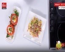 شاف لغسيط: طماطم معمرة في الفرن + المعجنات بالبسطرمة