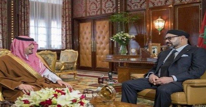 تفاصيل استقبال الملك محمد السادس لوزير الداخلية السعودي