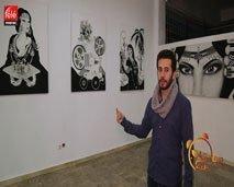 الفنان التشكيلي الشاب محمد مستطاع ضيف صباحكم مبروك