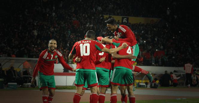 بالفيديو: المنتخب المغربي يتأهل للمبارة النهائية بعد فوزه على نظيره الليبي بثلاثة اهداف لواحد