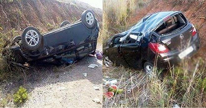 اصابات في حادث سير خطير نواحي أزيلال