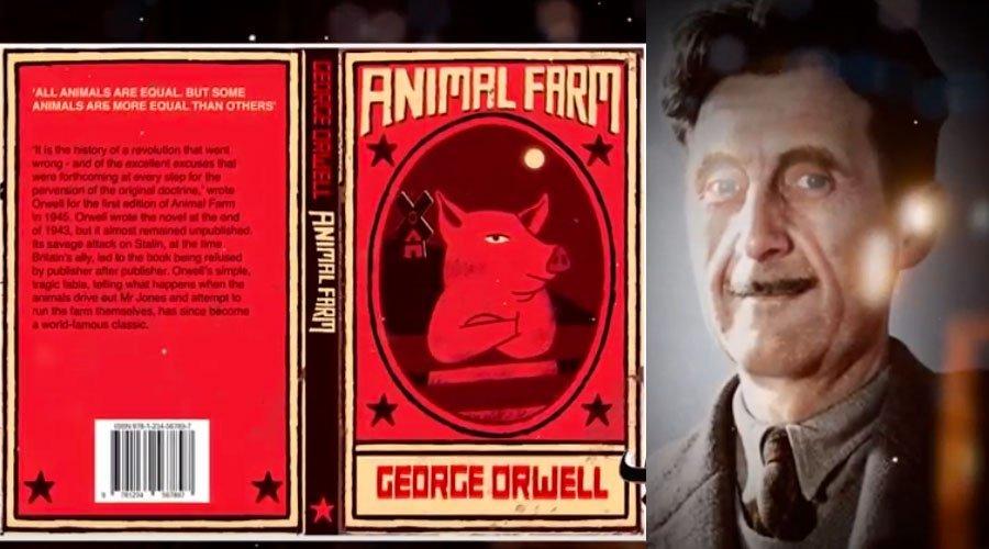 كتب ممنوعة :  قصة منع رواية مزرعة الحيوان للكاتب البريطاني جورج أورويل