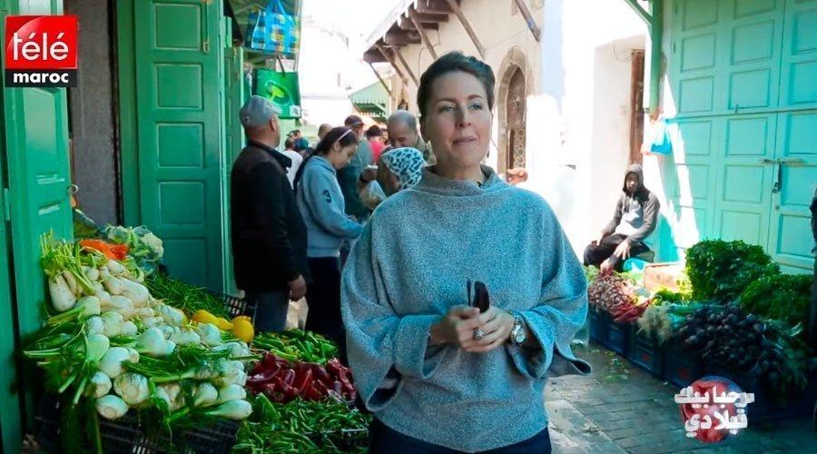 أمريكية تعرف المغاربة على سويقة المدينة القديمة بالرباط
