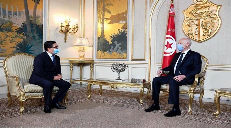 بوريطة ينقل رسالة شفوية من الملك إلى الرئيس التونسي