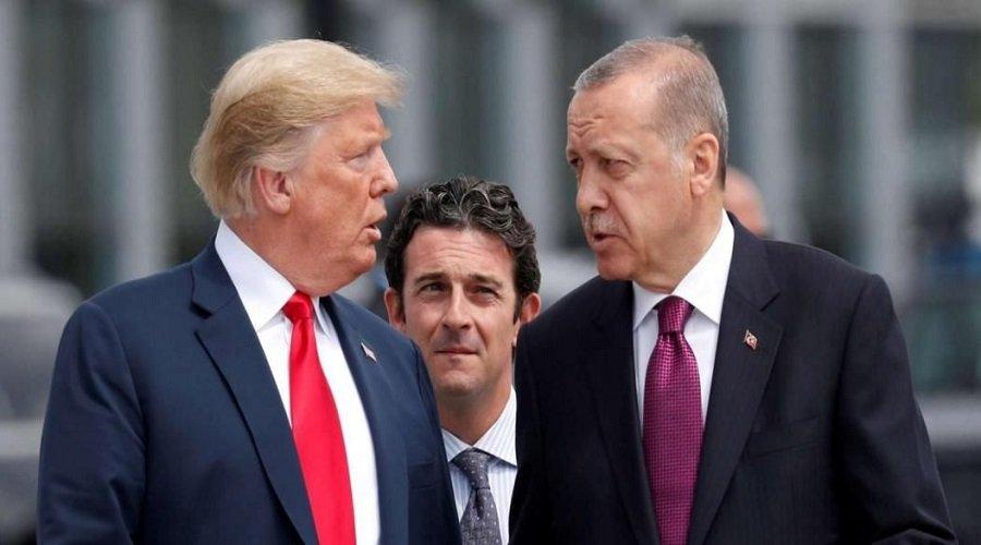 """ترامب يهدّد تركيا بـ """"تدميرها اقتصاديًا"""" إذا هاجمت الأكراد"""