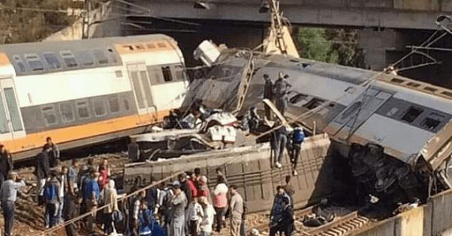 ارتفاع حصيلة الضحايا في فاجعة قطار بوقنادل