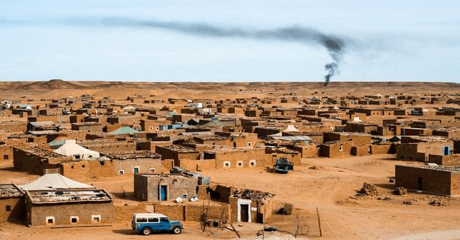 تقرير حقوقي يرصد انتهاكات حقوق الانسان بمخيمات تندوف