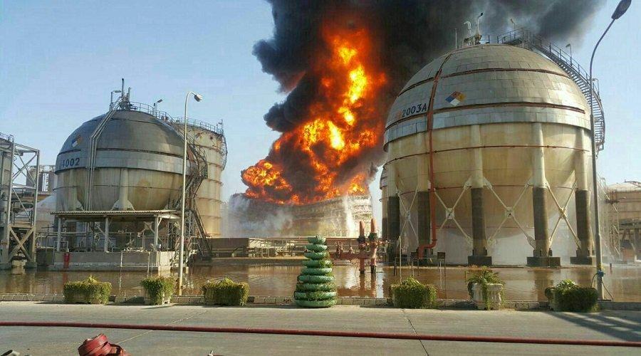 انفجار جديد في منشأة للطاقة بإيران