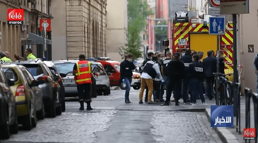 """فرنسا: انفجار ليون يخلف 13 إصابة و """"من المبكر"""" الحديث عن فرضية عملية إرهابية"""