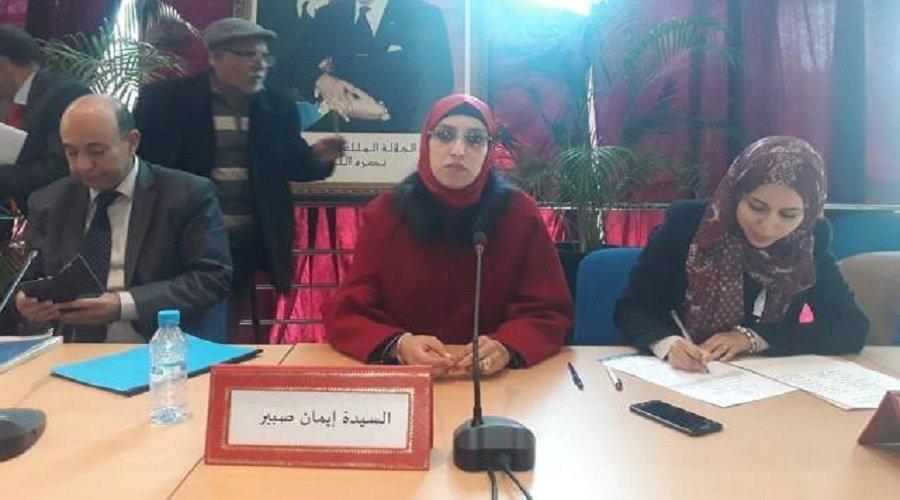 المحكمة تجرد إيمان صبير من رئاسة جماعة المحمدية