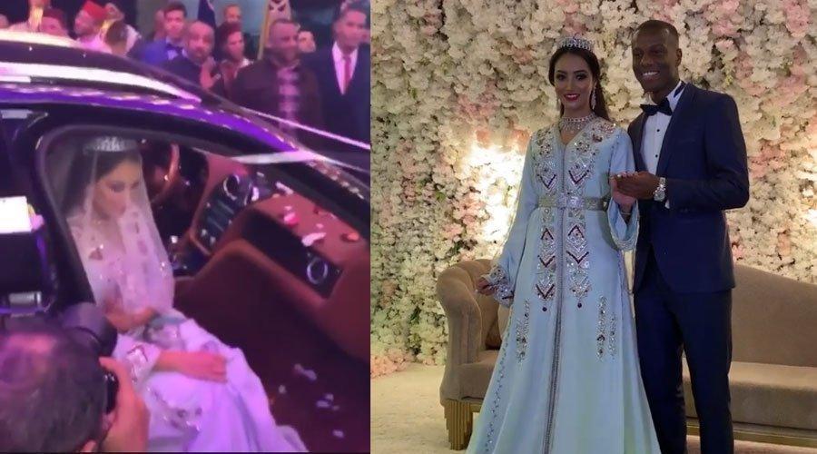 الفيديو الكامل لزفاف اللاعب حمزة منديل من مروة أورحالي