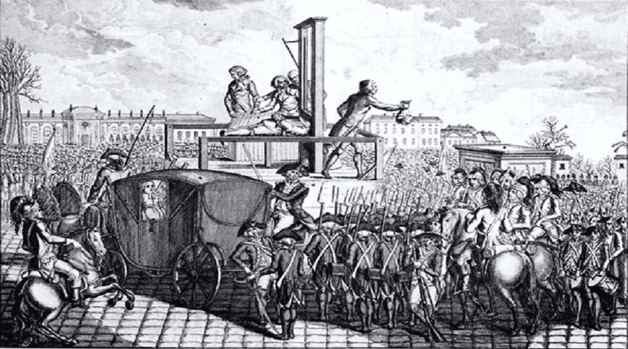 الجمهورية الفرنسية الأولى تفتك بآخر ملوك قصر فرساي