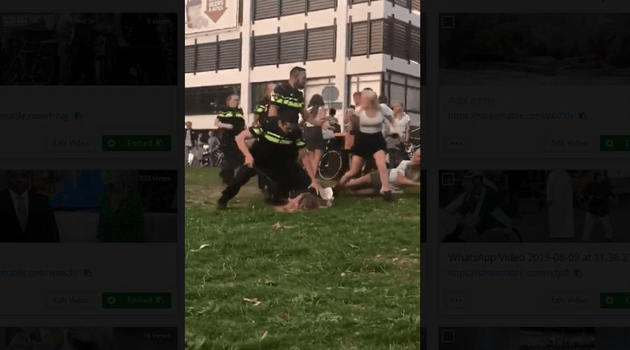 بالفيديو.. هكذا ردت الشرطة الهولندية على اتهامها بالعنف خلال اعتقال فتاة