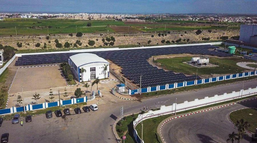 افتتاح أول محطة شمسية في مدينة الجديدة بمصنع نستله المغرب