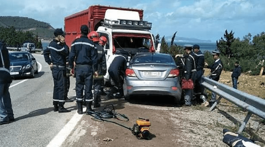 حوادث السير تحصد أرواح 30 شخص خلال الأسبوع الماضي بالمدن المغربية