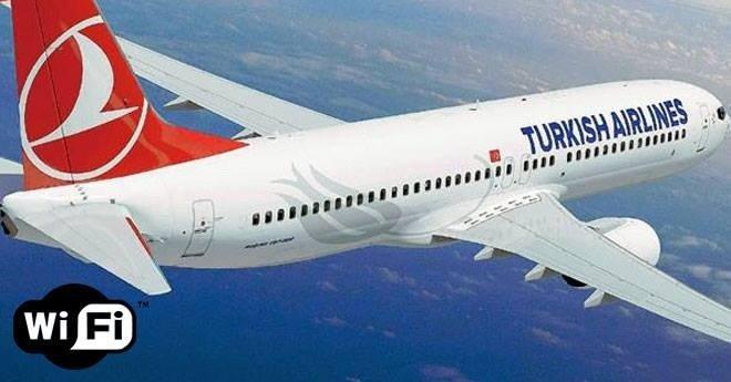 """شبكة WIFI يتضمن اسمها كلمة """"قنبلة"""" تؤدي لتحويل مسار طائرة تركية"""