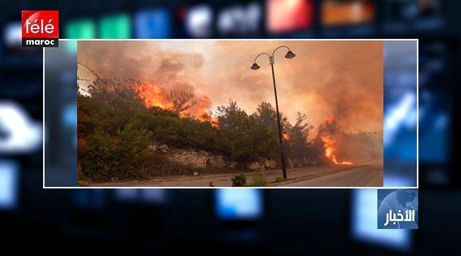 لبنان : تجدد اندلاع الحرائق في عدد من المناطق