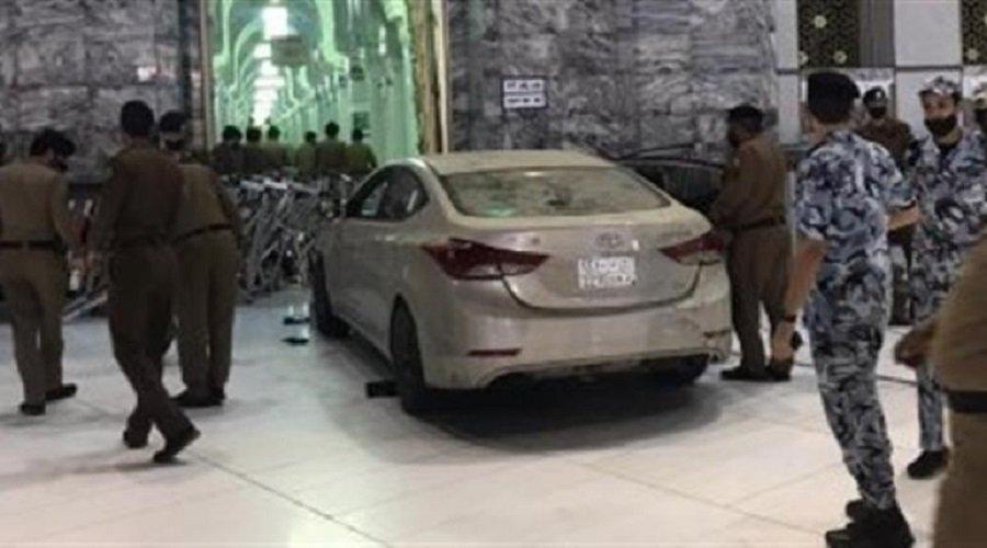 بالفيديو.. إمارة مكة تكشف تفاصيل ارتطام سيارة بأحد أبواب المسجد الحرام