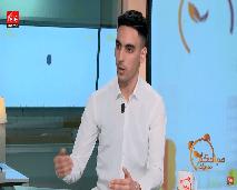 """منير تمزيغت يقدم كتابه """"أسميتها جمانا"""" في صباحكم مبروك"""