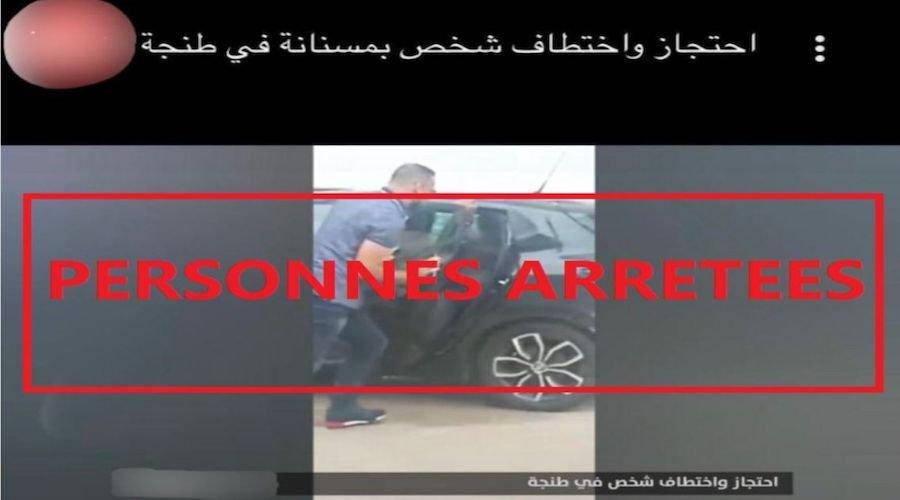 كشف تفاصيل حول فيديو تضمن ادعاءات بالاختطاف بطنجة